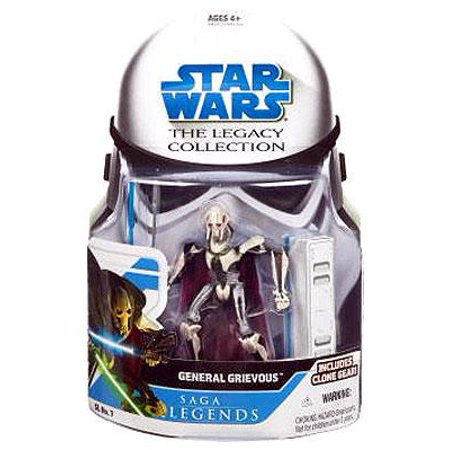 Star Wars Legacy Collection 2008 Saga Legends General Grievous Action - General Grievous Mask