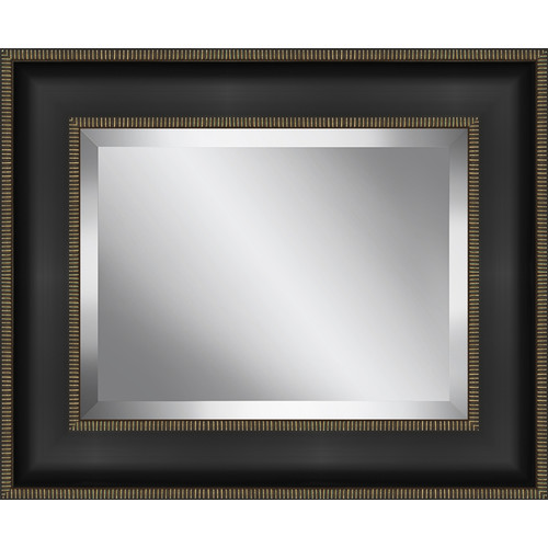 Ashton Wall D cor LLC Rectangle Framed Beveled Plate Glass Mirror
