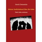 Kleiner Gedichtsband über die Liebe - eBook