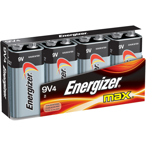 Energizer MAX 9V Battery 4-Pack