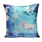 Unicorn Flamingo Cotton Linen Pillow Case Cushion Covers Pillowslip Pillow Protector Cover Case for Home Car Decor