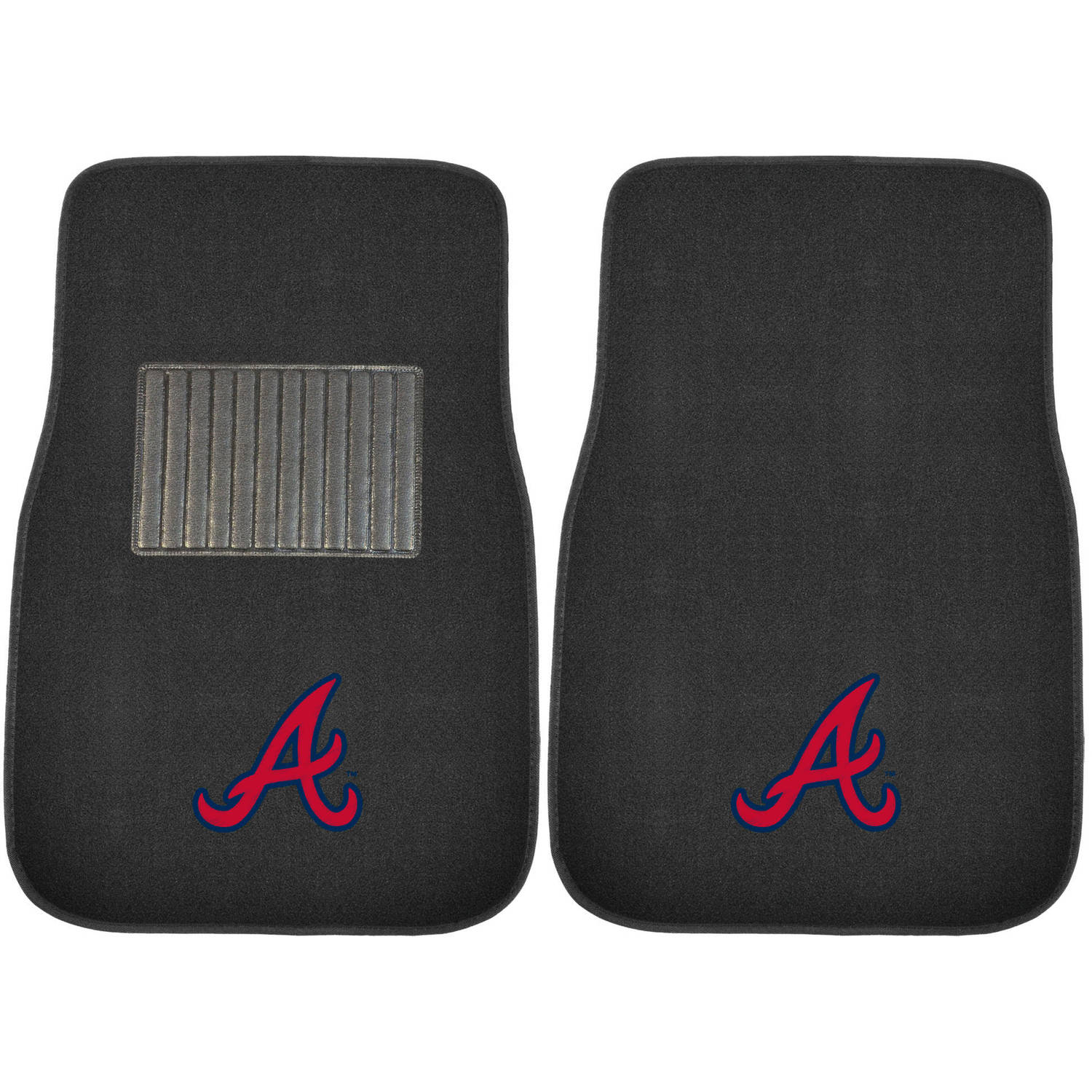 MLB Atlanta Braves Embroidered Car Mats
