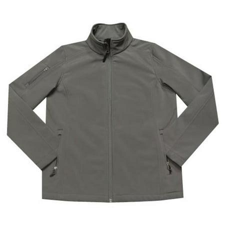 Ladiess Sonoma Softshell Jacket, Graphite - Small