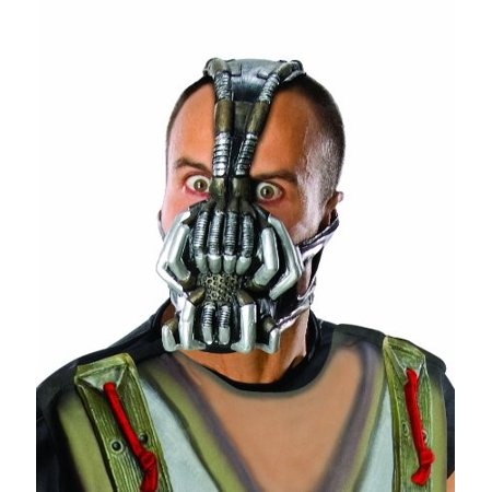 Batman The Dark Knight Rises Three Fourth Bane Mask Multi Colored One Size](Bane Replica Mask)