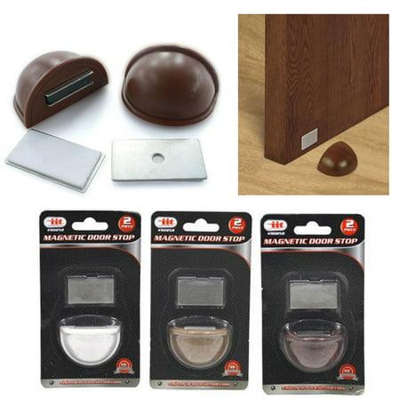 1 Pc Magnetic Doorstop Stopper Wall Door Mount Guard Safety Home Office Holder (Wall Mount Door Holders)
