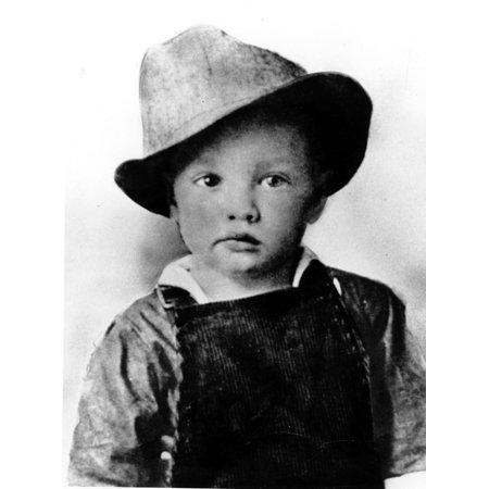 Elvis Presley as a child Photo Print