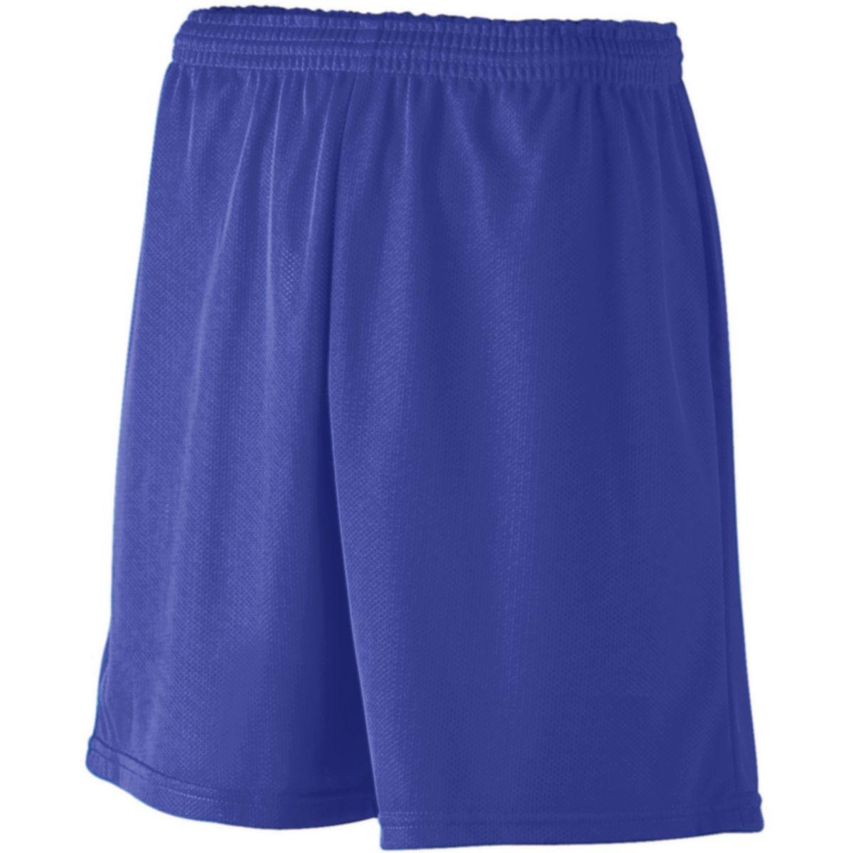 Augusta Mini Mesh League Short Purple Xl - image 1 of 1