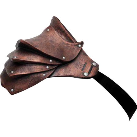 copper pauldron shoulder armour (Halloween Ghoulish Appetizers)