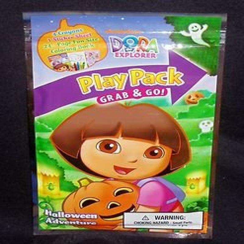 "Dora the Explorer Halloween ""All Halloween Adventure"" Play Pack Grab & Go Fun... by"