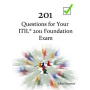 201 Questions for Your ITIL Foundation Exam - eBook