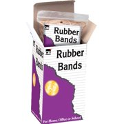 Charles Leonard Co. . 56416 1/4 Lb #16 Beige & Natural Rubber Bands