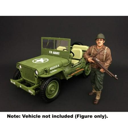 American Diorama: WWII USA Soldier II 1/18 Scale