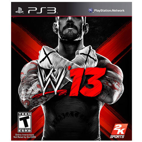 WWE '13 (Playstation 3) Used by 2K SPORTS