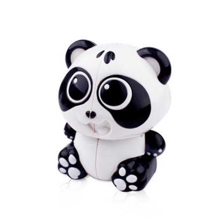 Cartoon Model Panda Shape Magic Cube Office Stress Reduction Education Kids (Magic Shapes)