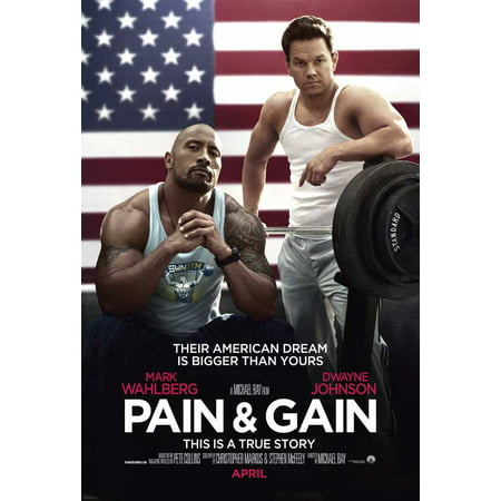 Back Pain Poster - Pain and Gain (2013) 27x40 Movie Poster