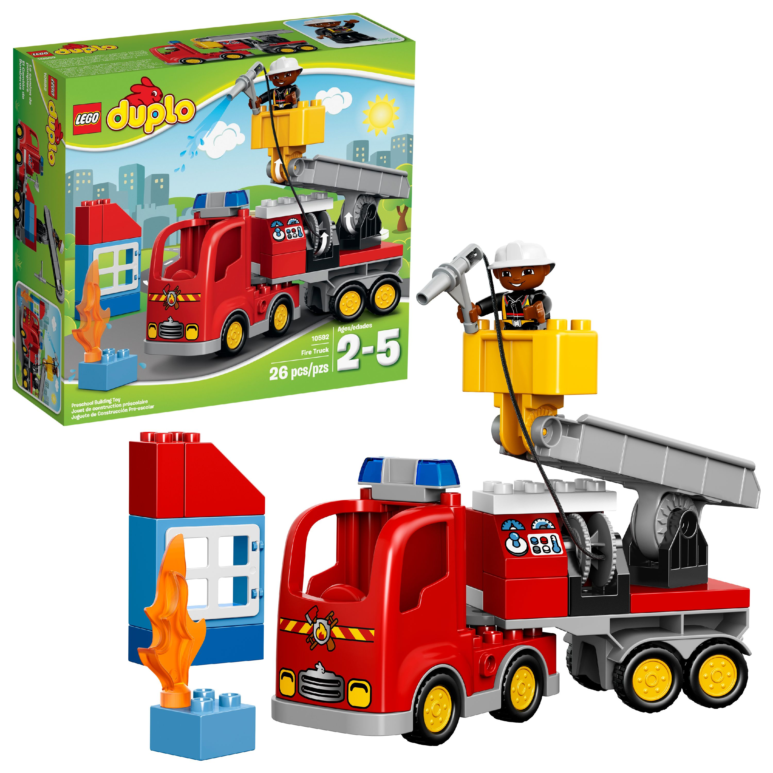 LEGO DUPLO Town Fire Truck 10592