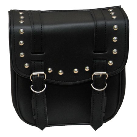 Small 2 Strap Studded Sissy Bar Bag by Vance Leather's ()