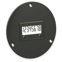 REDINGTON 3410-1000 LCD Hour Meter,3-Hole,2.87 in Flange