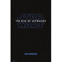 Star Wars: The Rise of Skywalker - Logo Poster and Poster Mount Bundle