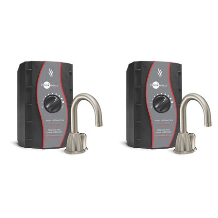 UPC 193802000061 product image for InSinkErator Invite HOT100 Instant Hot Water Dispenser System, Nickel (2 Pack) | upcitemdb.com