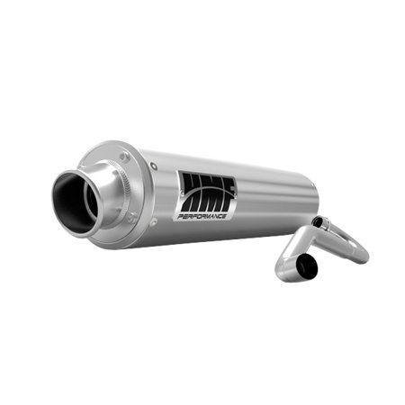 Hmf Performance Exhaust (HMF PERFORMANCE PERFORMANCE Series Complete Exhaust Honda Brushed )