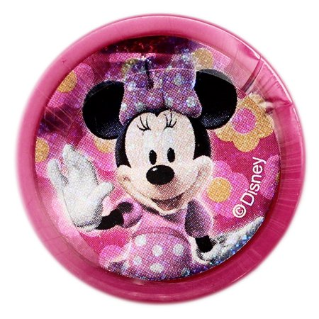 Disney's Minnie Mouse Shimmering Cover Self-Inking Stamp With Hot Pink Case