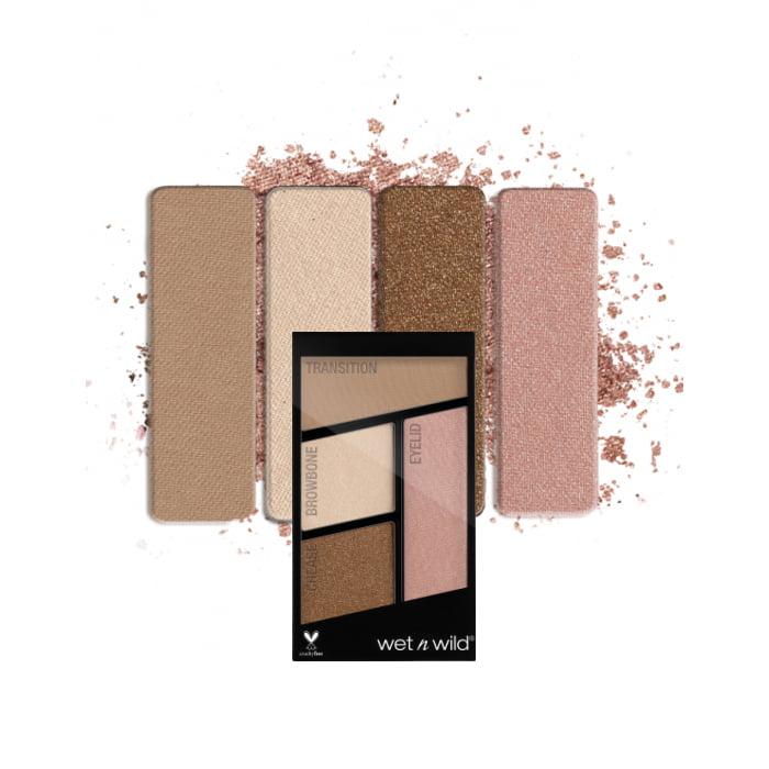 (3 Pack) WET N WILD Color Icon Eyeshadow Quad - Walking On Eggshells