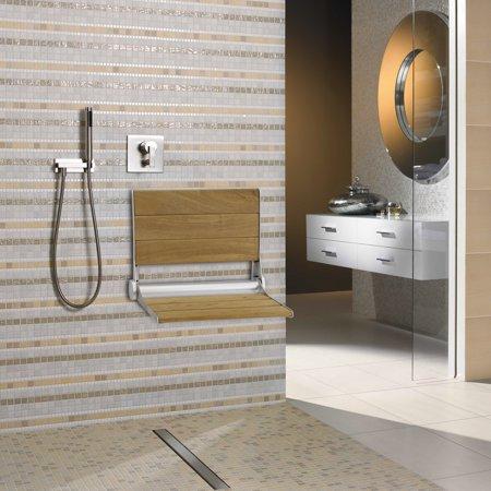 Awe Inspiring Kinbor Folding Bath Seat Bench Shower Chair Machost Co Dining Chair Design Ideas Machostcouk