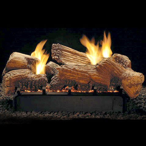 """Multi-Sided Ceramic Fiber Log Set - 24"""""""