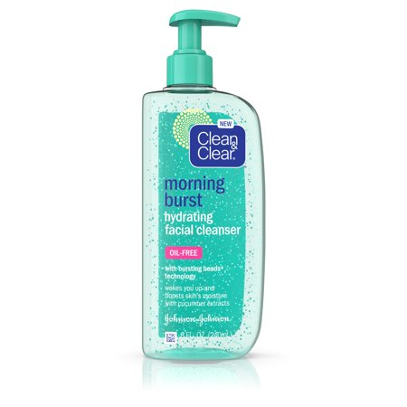 - Clean & Clear Morning Burst Oil-Free Hydrating Face Wash, 8 fl. oz