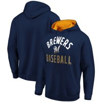 Milwaukee Brewers Fanatics Branded Team Pride Pullover Hoodie - Navy/Gold