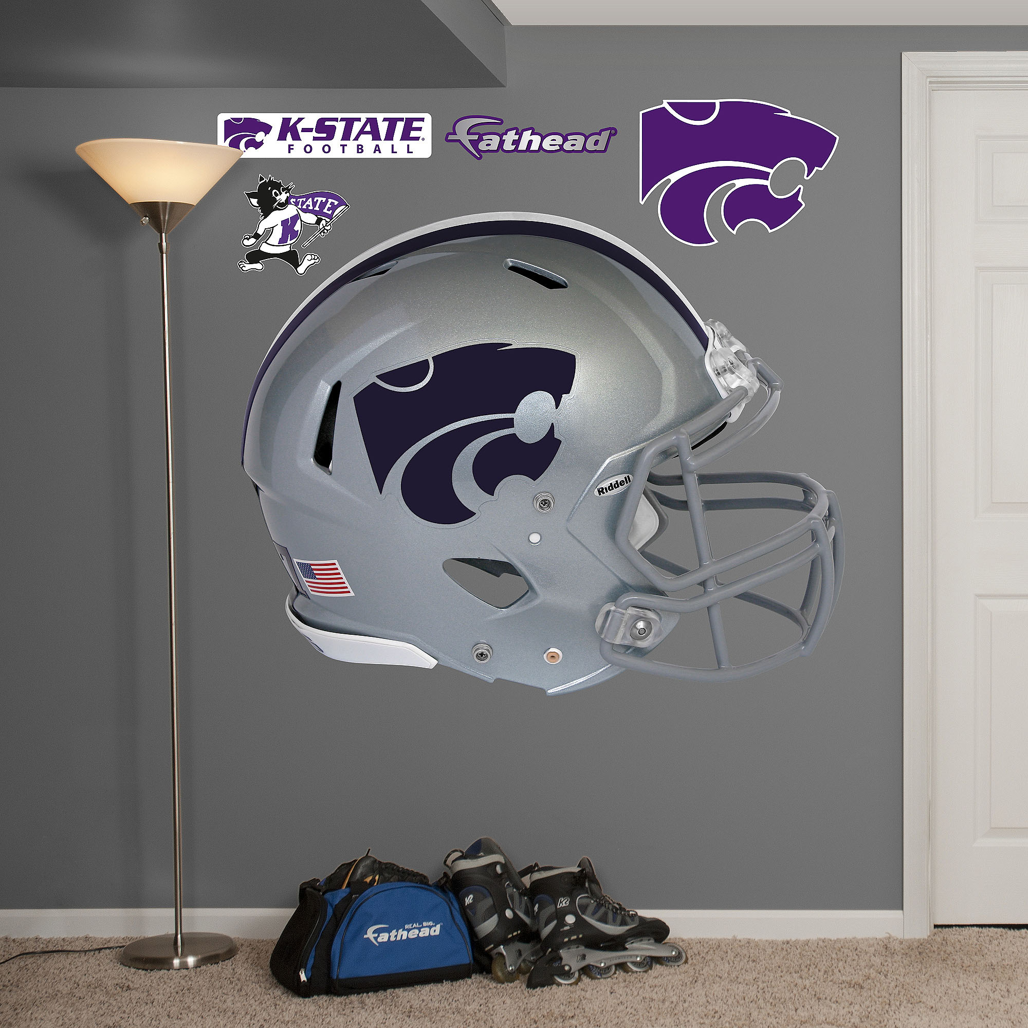 Kansas State Helmet