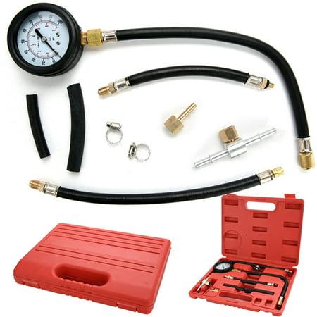 Tu 113 Pressure Gauge Set Kit Cars Fuel Injection Pump Injector Tester Test Gasoline Trucks Wsy