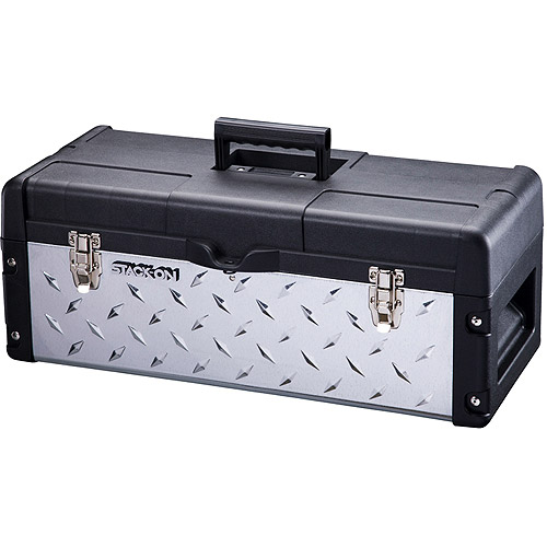 "Stack-On Professional 26"" Galvanized/Plastic Tread Plate Tool Box"
