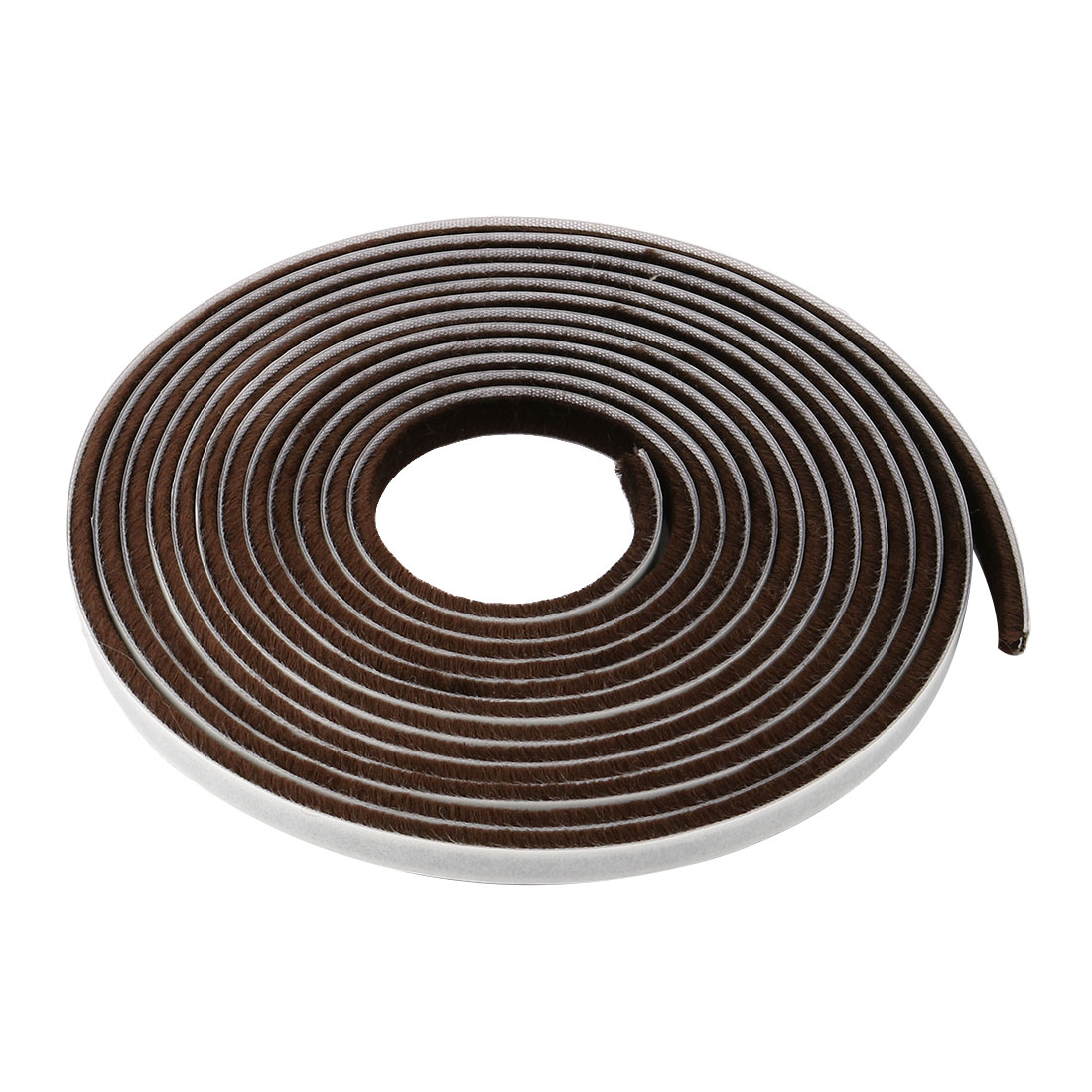 Furniture Weather Stripping Window Brown 16.4Ft(3/8Inch Widthx3/16Inch Thick)