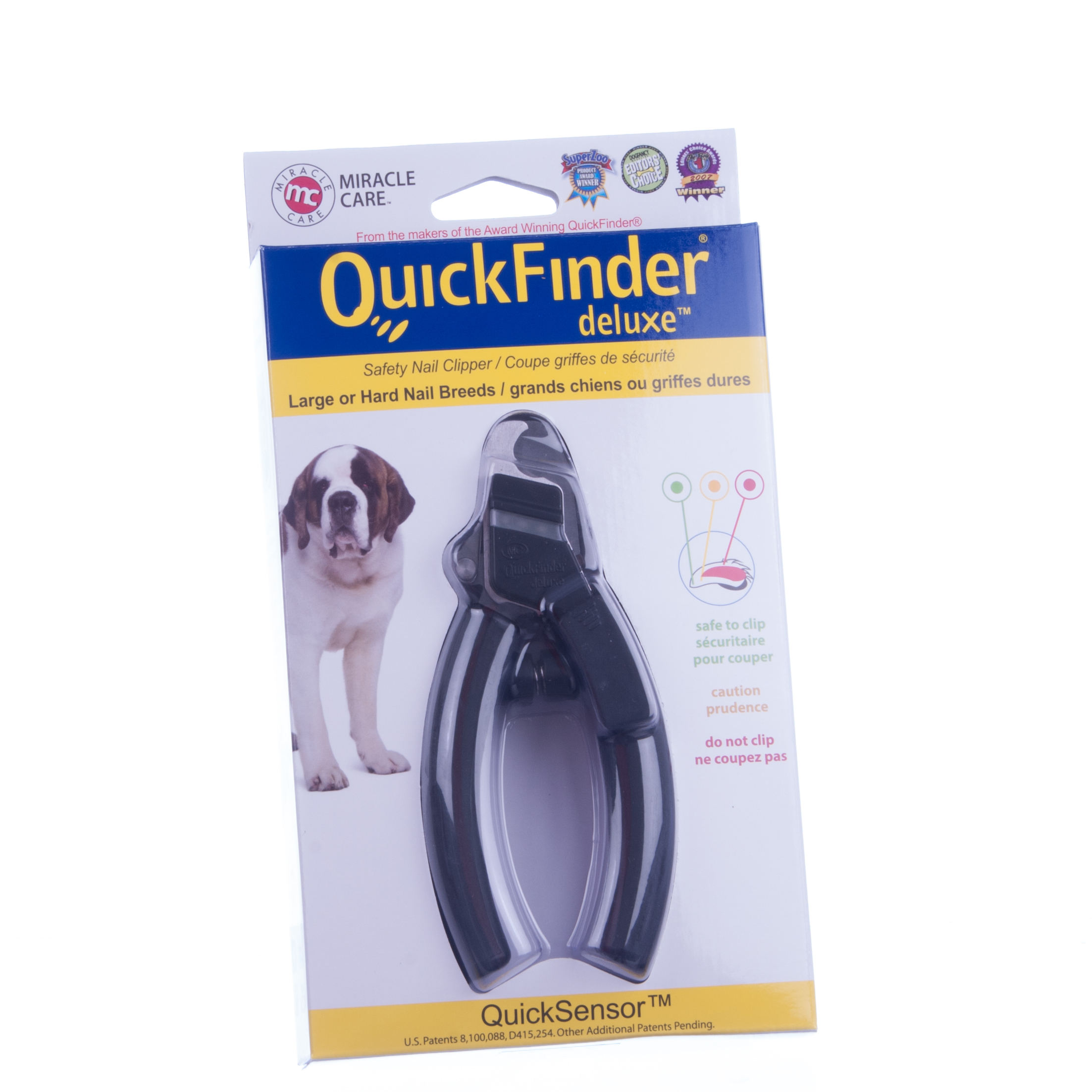Miracle Corp QuickFinder Clipper Deluxe, Black