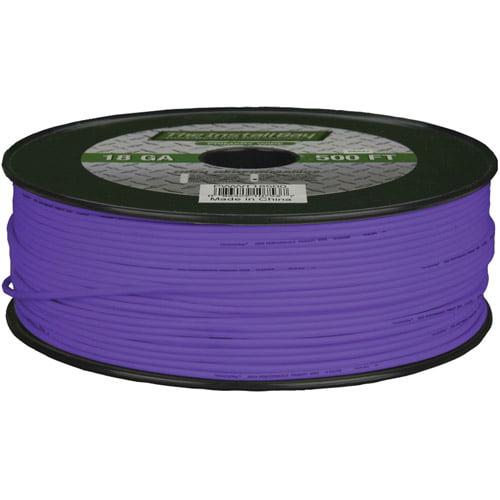 Install Bay 18-Gauge Primary Wire, 500' (Purple)