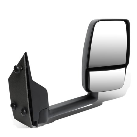 For 2003 to 2018 Chevy Express / GMC Savana 1500 / 2500 / 3500 Manual Adjustment Side View Mirror (Right / Passenger)