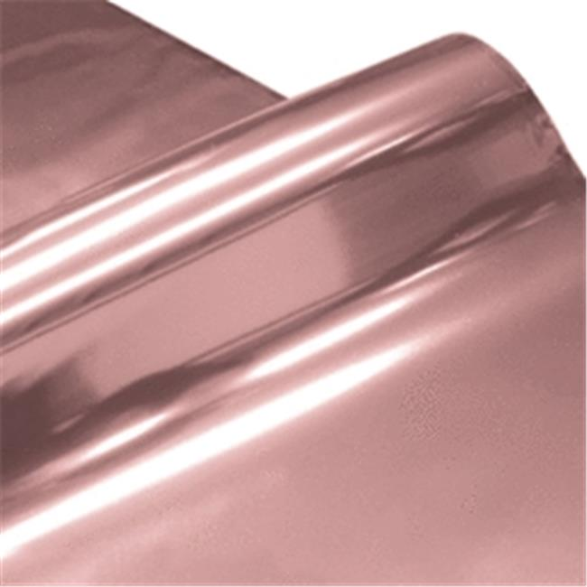 Cindus 78689 30 in. x 5 ft. Cellophane Wrap Roll - Metallic Ma & Silver