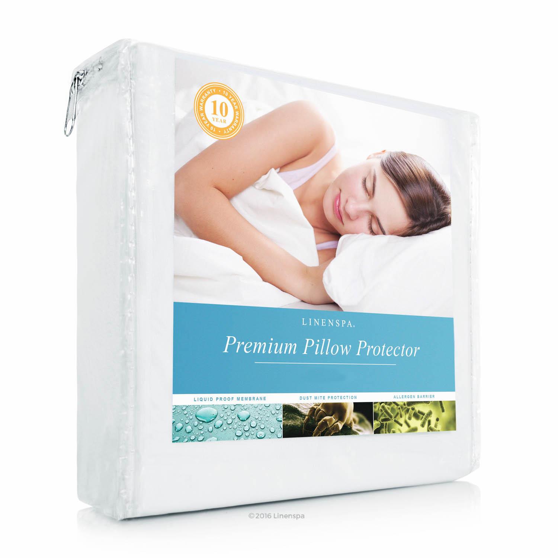 Linenspa Premium Pillow Protector - Vinyl Free - King