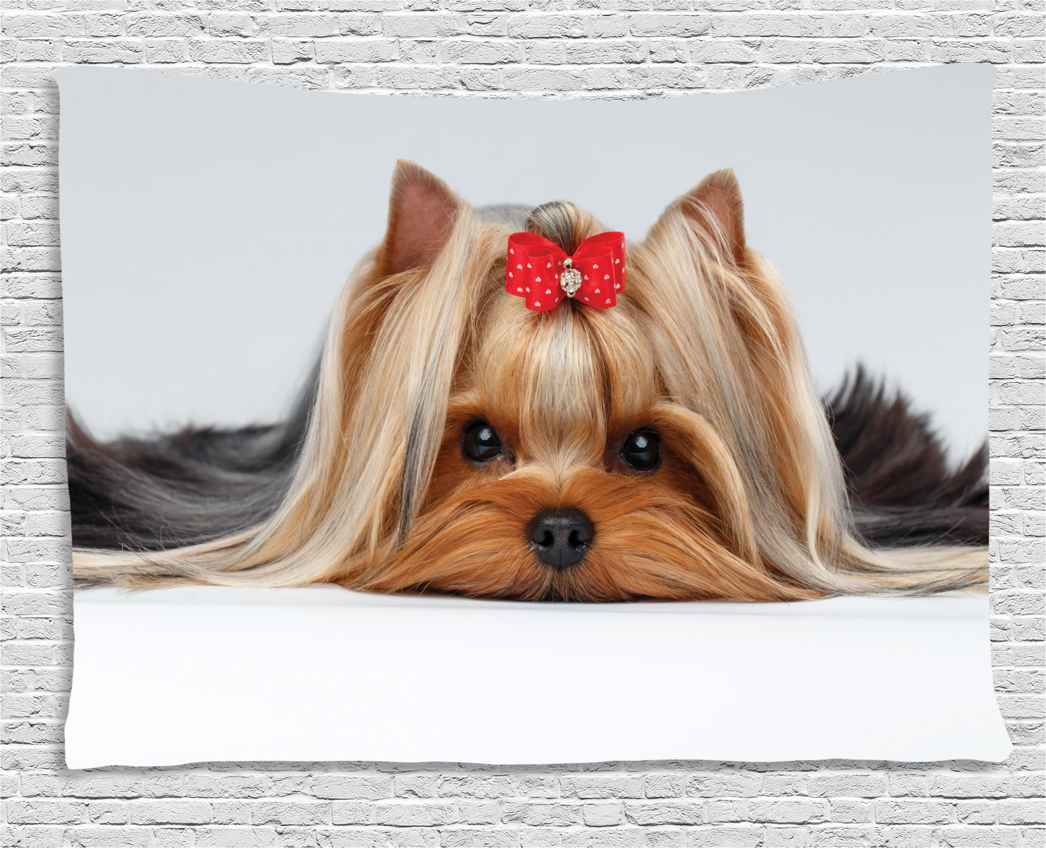 Art Print Car Seat Covers Great Breed Store Cute Yorkshire Terrier Yorkie