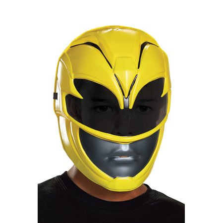 2017 Yellow Ranger Vacuform Child Mask (Halloween Nj 2017)