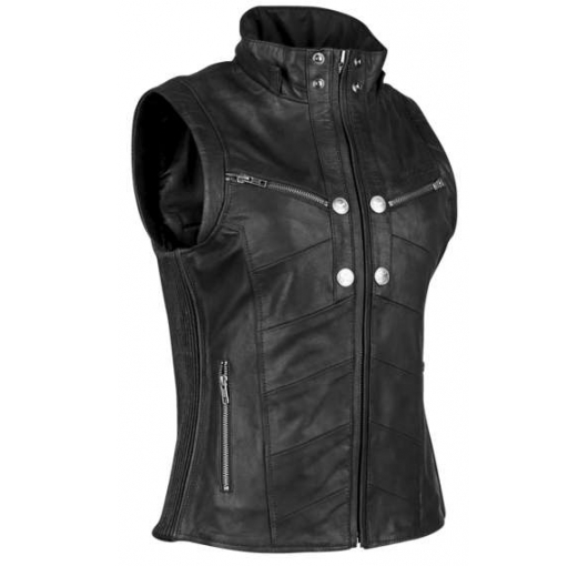 Speed And Strength Hells Belle Vest Blk Wxs 884293