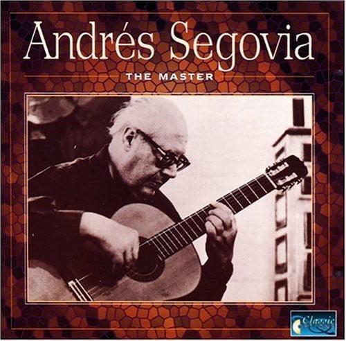 Andr Segovia - The Master [CD]