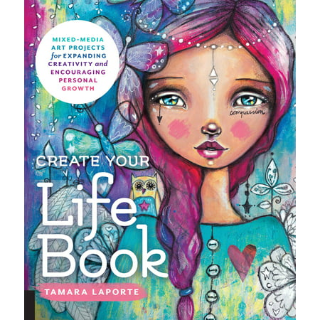 Create Your Life Book : Mixed-Media Art Projects for Expanding Creativity and Encouraging Personal - Halloween Art Projects Pinterest