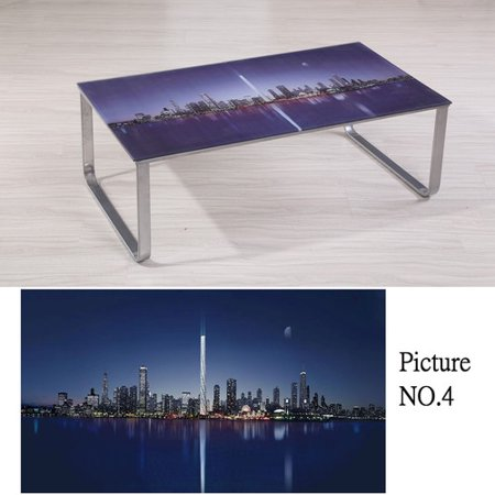 Container Scene Decor Coffee Table