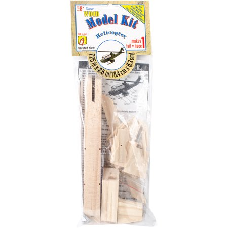 Wood Model Kit, Attack Helicopter](Wood Kits)