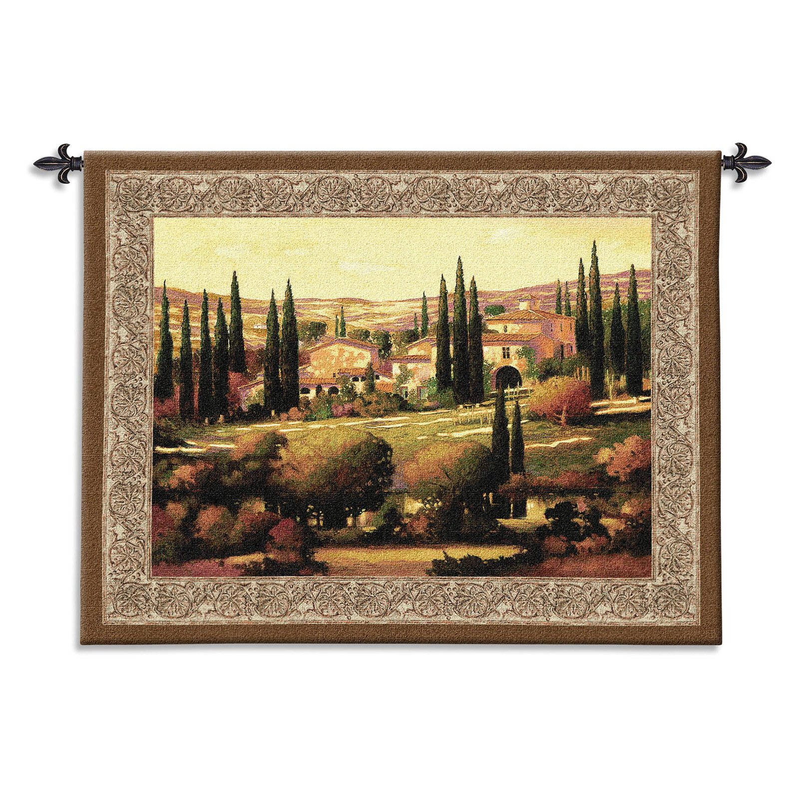 FineArtTapestries 2708-WH Tuscan Gold Wall Tapestry by Supplier Generic