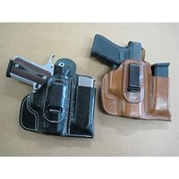 Azula Leather IWB Combo Holster and Mag Pouch CCW for Ruger LC9 LC9s 9mm Black RH