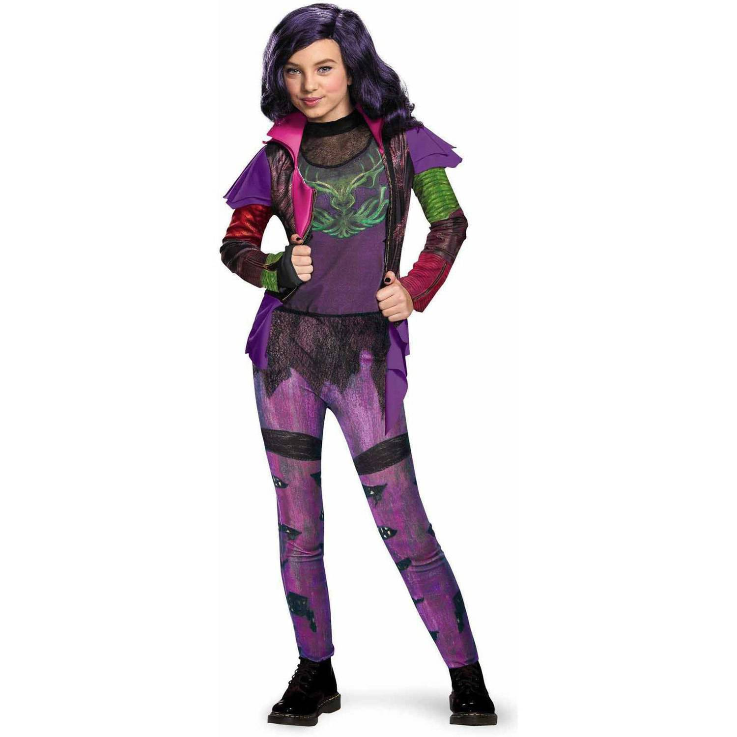 Disney The Descendants Mal Isle of the Lost Deluxe Child Halloween Costume